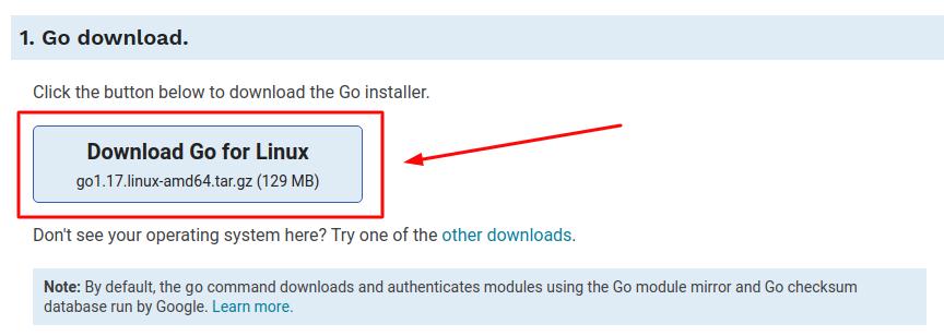 Установка Go на Windows